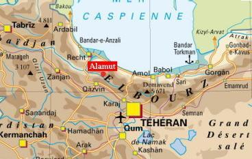 Alamut Alamut-map